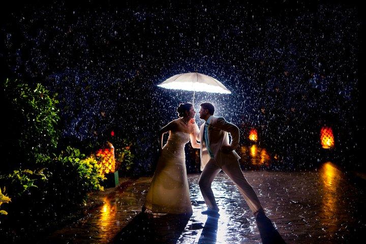 Rain Dancing Couple
